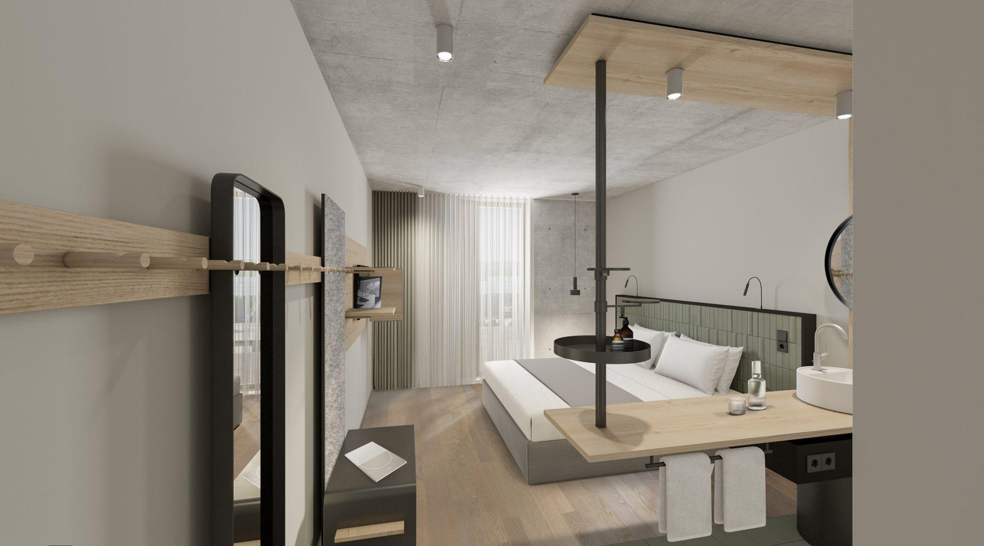 20200812_Hotel Coreum Zimmer